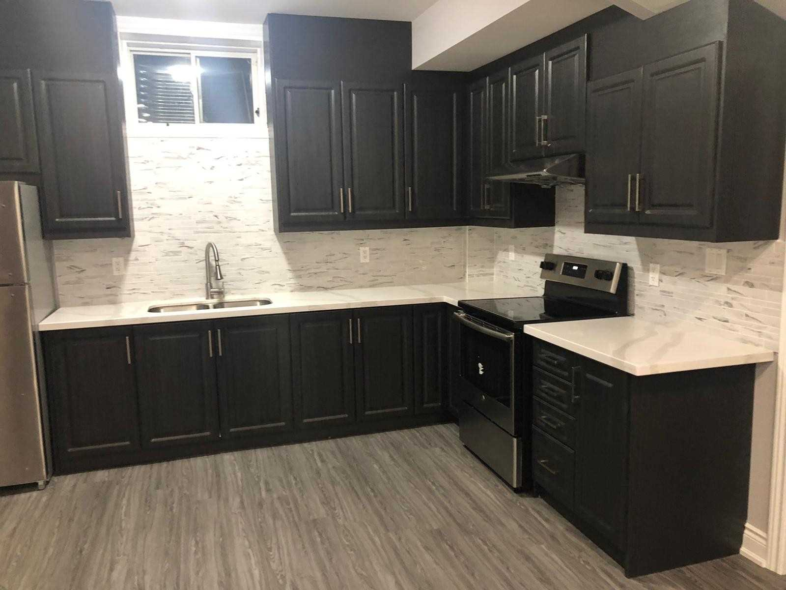 Brand New Legal Basement: Beautiful & A Spacious 2 Bedroom Basement Apartment With 1 4Pc Washroom. Brand New Appliances And Pot Lights. Separate Entrance To Bsmt Apartment 1 Parking Spot. Prime Location. Great Location, Family Friendly Neighbourhood, Walking Distance To School, Transit, Shopping Plaza, And Banks. Utilities Are Included.
