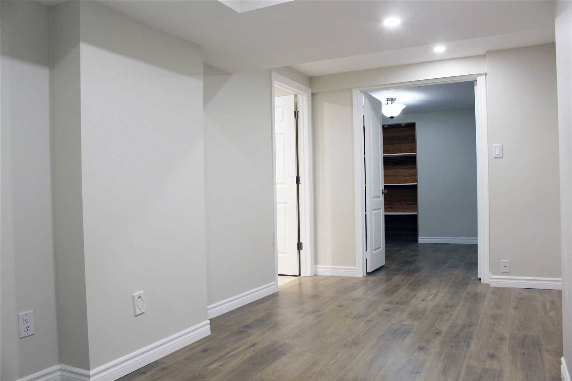 Newly Finished Basement Apartment, Never Lived. Ideal For A Quiet, Professional Single. Separate Entrance, Ensuite Washer & Dryer, Large Bedroom With Big Window. Steps To Renowned Schools And Community Centre, Beautiful Park With Trails, Golf Course, Yacht Club. Close Proximity To Go Station. Easy Access To Highway. Hurry, It Won't Last Long!