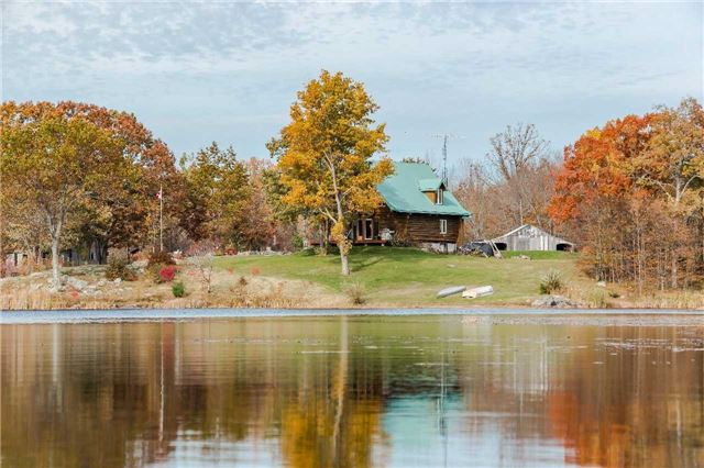 Welcome To Your Very Own Oasis On This Stunning 197 Acre Estate, Complete With It's Private 40 Acre Lake. Imagine Swimming, Boating And Fishing On Warm Summer Days And Cross Country Skiing In The Winter. 3 Hour Drive From Toronto, 2 Hour Drive From Ottawa . Chalet Style Log Home Built In 1996 With Red Bc Pine. Waterfront Guest Bunkie Included. 10 Minute Drive To Prestigious Golf Course.