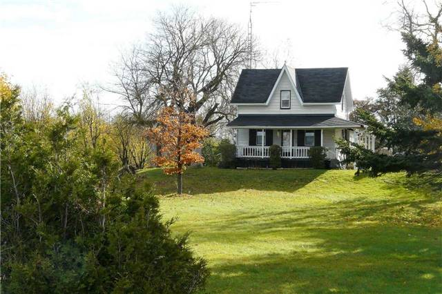 Charming 17.33 Parcel With Century Old Ontario Farmhouse, Bank Barn. Approx 6 Acres Mixed Bush/10 Clear. House- Windows (All But 2) Replaced In2016/17, Kit Cabinets 2017, Plank Laminate 2017, Eaves - Facia 2016, Chimney Rebuilt, Roof Reshingled In 2011. Uv Filtration-2017, Pellet Stove 2015. Generous Rooms, Lovely Covered Porch, Walkup Bsmt To Rear Deck. Hydro Pole In Barnyard Is Owned, No Fees.  Closing Is Flex  Set Nicely Back From Road. A Pretty Property!