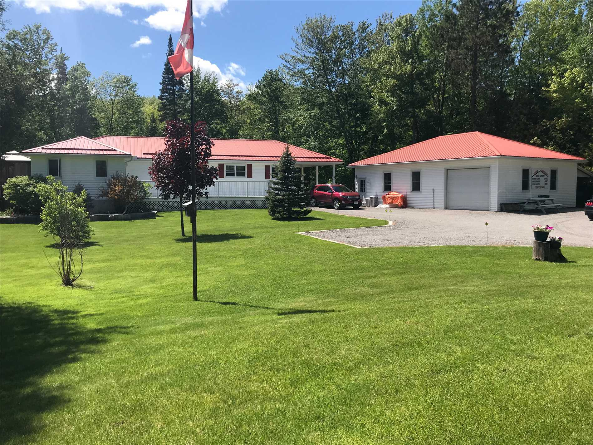 This Immaculate Bungalow Sits On A Very Private 3.15 Acre Lot Minutes From The Town Of Havelock Or Approx 30 Minutes To Peterborough. Open Concept Living Space With Large Country Kitchen. Master Bedroom On Main Floor And A Room With A Home Based Business Could Easily Be Converted To A Bedroom. Plus 2 Bedrooms & Bath On The Lower Level. Pride Of Ownership Everywhere You Look! A Gorgeous Pond Surrounded By Trees Is Another Feature Of This Exceptional Property.