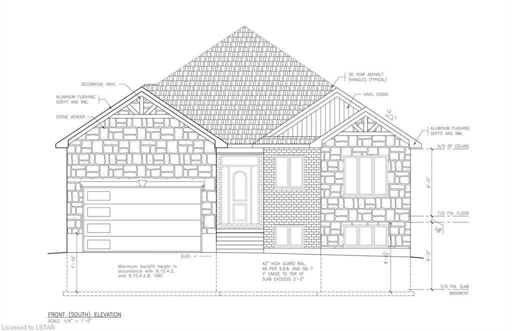 """Builders """"Welcome Home"""" Are Set To Start Construction On A One Of A Kind 1,680 Sq Ft, 3 Bed 2 Bath Bungalow In An Up & Coming Subdivision Of Grand Bend. Open Concept Design Allows For Clear Site Lines Throughout. Separate Entrance To Basement Through Garage Allows For An In-Law Suite Or Rental Potential. Act Fast For The Opportunity To Pick Some Of Your Own Finishes. Close To Local Amenities & Short Walk To The Strip/Beach. Tarion Licensed Builders."""