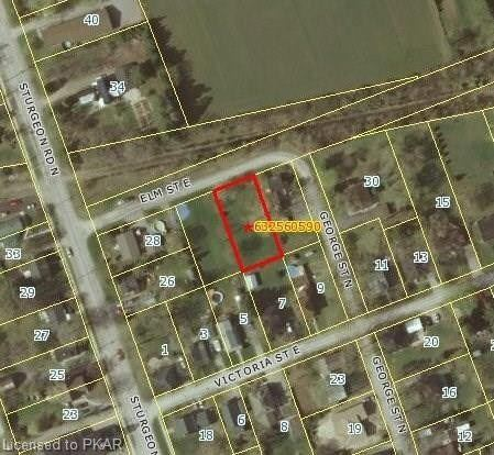 Unserviced Level Building Lot In Village Of Omemee, Just 3 Blocks West Of Highway #7. Located In A Quiet Neighbourhood.