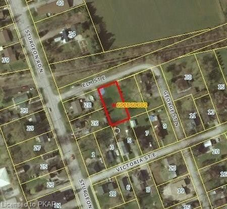Unserviced Level Building Lot In Village Of Omemee. Just 3 Blocks West Of Hwy #7. Located In Quiet Neighbourhood