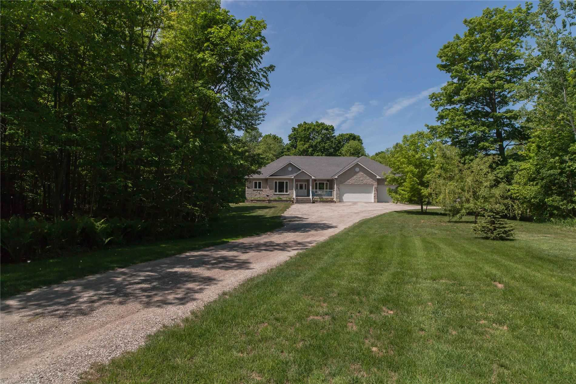 Executive Country Estate On 43.82 Gorgeous Acres Bordering Spring Creek, 5 Mins To Sauble Beach. Custom Built 5400 Sq Ft Home & Triple Garage Plus A 3200 Sq Ft Custom Shop/Garage. Quality Workmanship Shows! 4 Bed, 4 Bath, Gleaming Hrdwd Flrs. All Rms Generous Size! Huge Open Concept Living, Kitchen W/ Island & Pantry, Main Flr Laundry, Master W/ Ensuite & W/I Closet + Walkout To Deck. Games/Rec/ Workout Rm, Cold Storage, Guest Bedroom / Bath + Workspace
