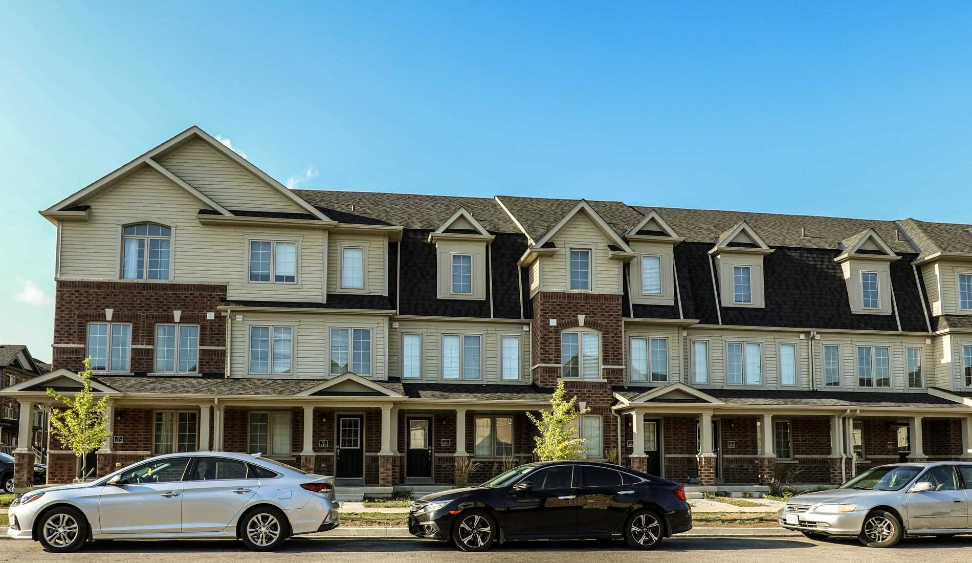 Free Hold Town House - Only 2 Years New. Very Well Kept 4 Bedrooms & 3 Washrooms Townhouse Near Conestoga College. It Is A Great Opportunity For The First Time Home Buyers Or Investors With Positive Cash Flow Income. Very Close To Hwy 401 & All The Amenities. The House Has Garage Door Opener With Remote, Central Vacuum Rough-In. Full Of Sun Light. Master Bedroom With En-Suite & Also 3 Spacious Bedrooms. Market Rent In The Area Is Approx $2800.