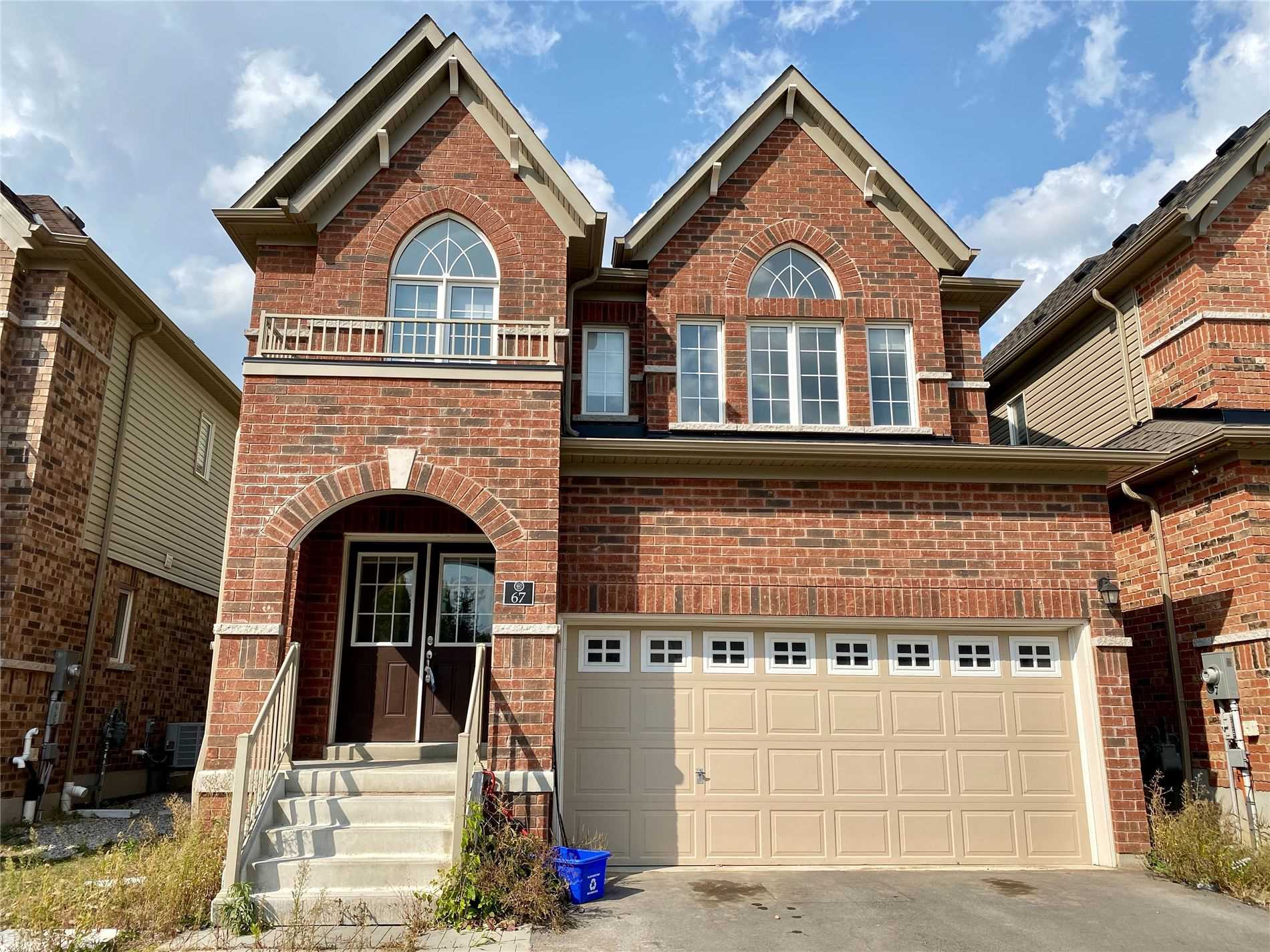 Gorgeous 2 Years Old Crystal Homes Build Detached House (Edenvale Model With Brick C Elevation Almost 2500 Sqft) With 9 Feet Ceiling, Oak Stairs, Double Car Garage, Double Door Entrance With 5 Bedrooms. Plus Family Room And Living Room), 3 Baths. 2 Min From The Hwy 401, Minutes From Conestoga College, Don Valley Golf Course, Close To Pinnacle Hill Natural Area & Short Drive From Schools. Laundry Upper Level.