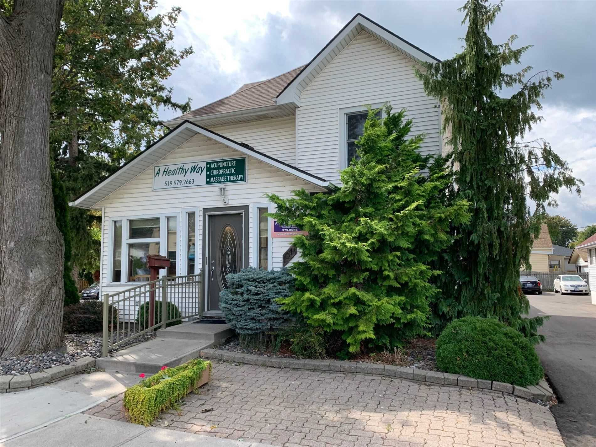 2500 Sqft, 3 Level, Corner Lot, Detached Two Car, 2 Story Garage (2nd Floor Finished).  Zoned C3-8 Residential / Office Use Commercial.  This Location Is Available For Lease At $3000 Per Month (Garage Excluded).   Master Bedroom 3rd Floor (Full Bathroom And Gas Fireplace).   4 Large Rooms 2nd Floor (Full Bath).  1st Floor: Reception Room, 4 Rooms, Kitchen, Full And Half Bathroom, Laundry Room, Parking Front And Rear...