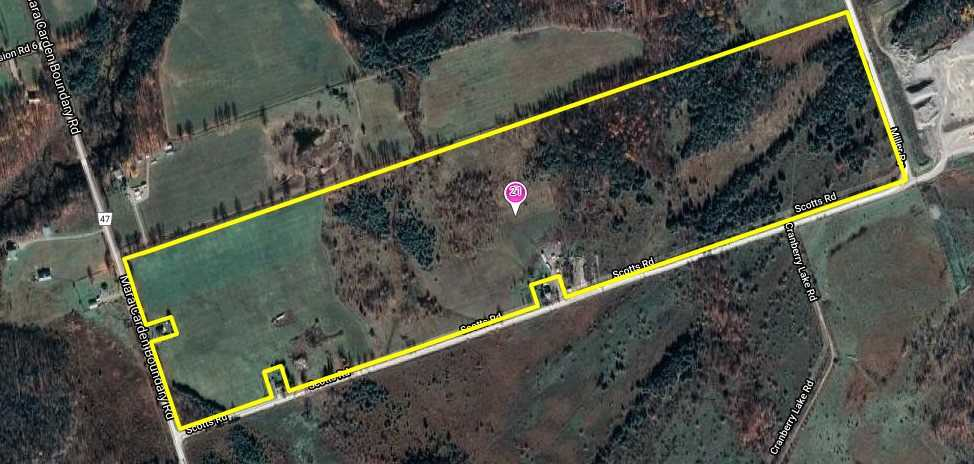 Rural General Zoning Also Allows Agricultural Use, 95 Acres Ideal For Aggregate Business, Located On Heavy Road With Access To Hwy 12, New Built 29 X 240 Square Metres Seasonal Greenhouses.