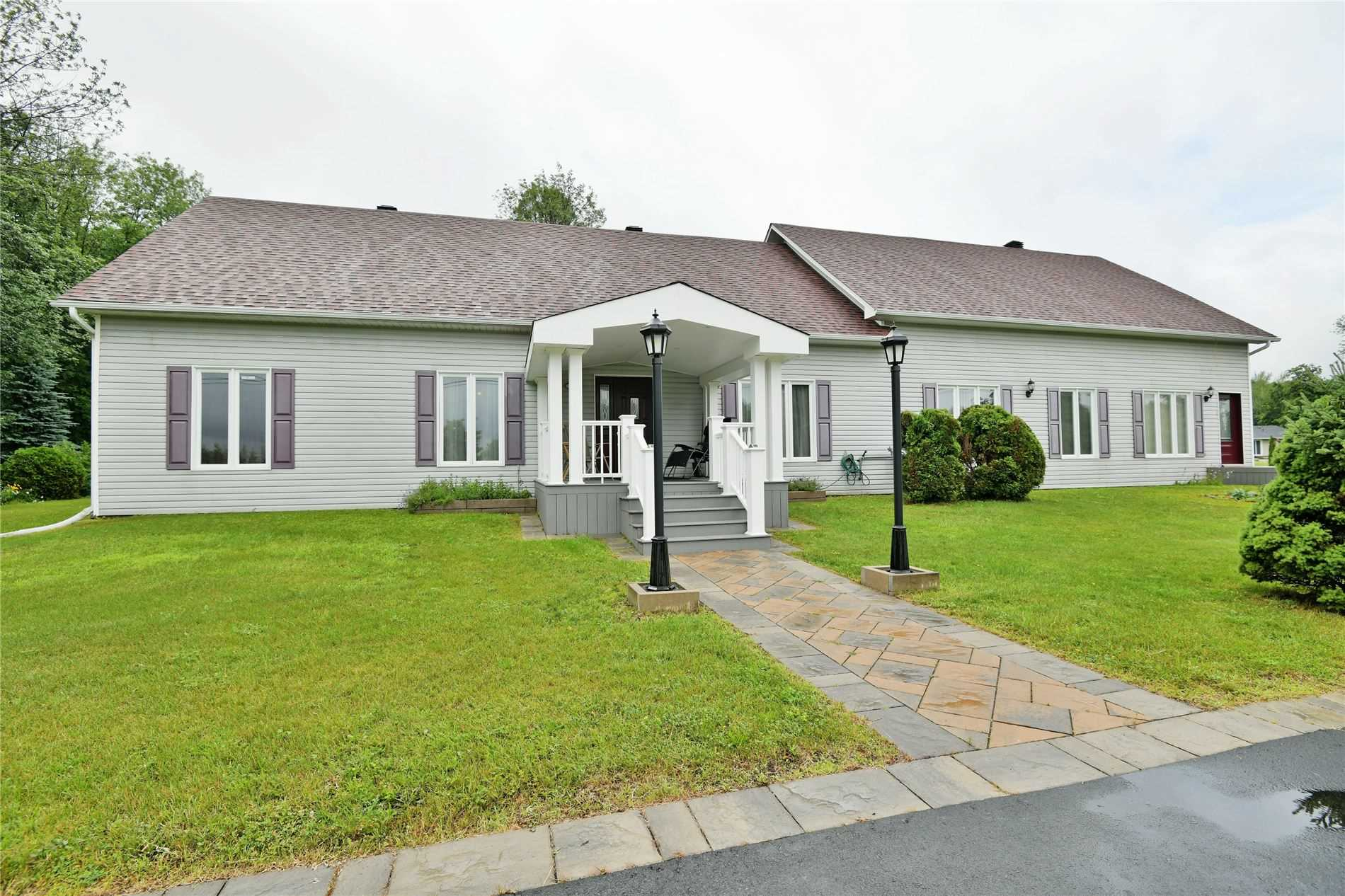 Custom Built 3 Bedroom, 3Bth Bungalow, With Additional App.1800 Sq. Ft. Residence Has Hardwood Floors, Parquet And Ceramic Tile , Large Open Concept Main Living Area With High Ceilings Thru-Out. Enjoy The Spacious Master With Whirlpool Tub In Corner Of Master For Those Intimate Evenings And Its Own Ensuite. The Residence And Office Each Have Their Own Gas Furnaces, Hydro, Central Air And Separate 200 Amp Breaker Panels. House Is On A Concrete Slab.