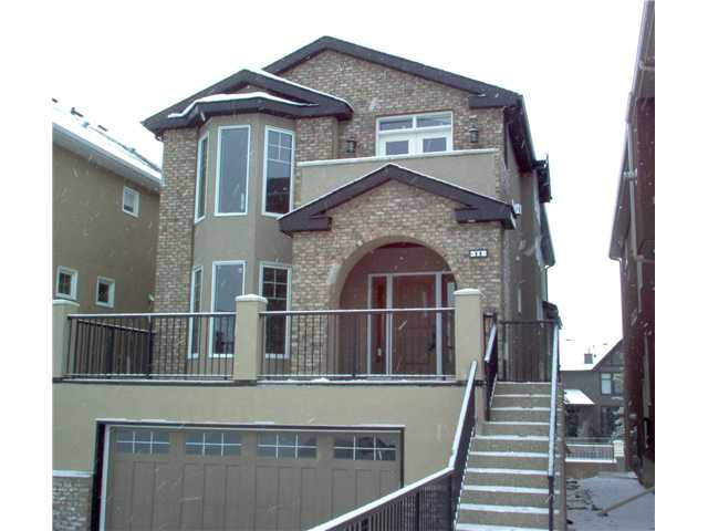 One of the larger properties in the Brownstones of Aspen, this home offers great $/ft2, with almost 3,400 ft of developed space including the finished basement.  Open layout with value-added upgrades including rounded corners, knock-down ceilings, granite counters, stainless steel appliances, spiral staircases, and comfy radiant in-floor slab heating.  The master bedroom features vaulted ceilings with 2 skylights plus a steam shower in the ensuite, and the kitchen offers a sun tunnel which runs from the main level ceiling directly to the roof, bringing in substantially more natural light!  Quiet location, yet minutes walk to west side Recplex and upcoming LRT.  The occupancy permit was issued in 2011 and this home has never been lived in.