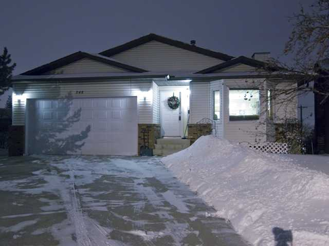 Want a home that has it all? Close to shopping, schools, parks, easy access to major thoroughfares? Then welcome home  to this warm and comfortable 4 bdr 3 bath walkout bungalow in Macewan! The main entrance greets you with an open and inviting living room and dining  area. Next is a very functional U-shaped kitchen with newer appliances. Continue straight to the good sized master bedroom with walk in closet and a 3pc  en suite bath (check out the large Balcony off the master!) or turn left to two large bedrooms which are supported by a 4pc bath. HEATED Double attached  garage. The sunny walkout basement is fully finished (except ceilings)with a 3 pc bath, large bedroom, hobby room, cold storage & gas fireplace. This  walkout basement takes advantage of large bright windows and french door access to the landscaped yard (even room for small RV parking!)This home has  been beautifully maintained and cared for. You won't be disappointed! Call today for your private viewing.