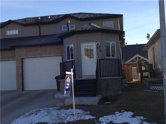 Welcome to High River! A short 25 minute drive into Calgary and life in a smaller town awaits you! You will be welcomed with a open concept living area as you enter. The kitchen features maple shaker cabinetry, black appliances and a large pantry!  The living room is a great space to relax after a hard days work. Off of the living room is a door to the quiet, private deck and backyard where you can watch the kids play while you enjoy your favorite beverage! The upstairs features a sizable master bedroom with walk-in closet, 2 well sized bedrooms for the kids or guests and a 4-piece bathroom.  The basement has been drywalled and requires your creative touch to finish. Oh and let's not forget the single attached garage! This incredible home is on a quiet cul-de-sac in the newer northwest area of High River and is a stones throw away from the golf course!  Opportunity to live close to the community park and schools is here.