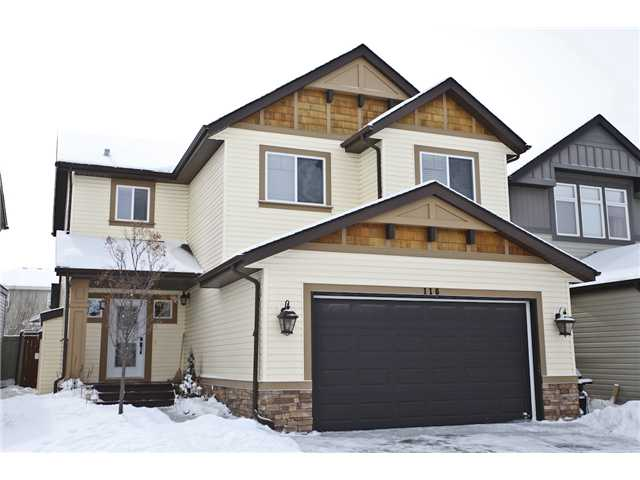 """Please click on """"VIEW MULTIMEDIA"""" to view virtual tour * Beautiful 2400 sqft, 2 Storey home on a super quiet street, just steps from 1 of 3 ponds in Copperfield & 1 block from the K-8 School! Bright, open & welcoming - this home features: 9 foot ceilings, dark stained hardwood flooring, a huge kitchen for entertaining - complete with a 10 ft Italian granite island & breakfast bar, brand new top of the line stainless steel appliances, generous pantry, huge laundry room/mud room combination - great for storage & functionality, plenty of extra space in the large bonus room, master suite complete with a spa-like master ensuite including large soaker tub and double sinks, double oversized garage, new lighting, gas fireplace, granite kitchen sink, central vac, double sinks in kids bath and much more! You will enjoy the SOUTH facing yard year round with an oversized deck, freshly painted fence and lots of extra space for the kids!"""