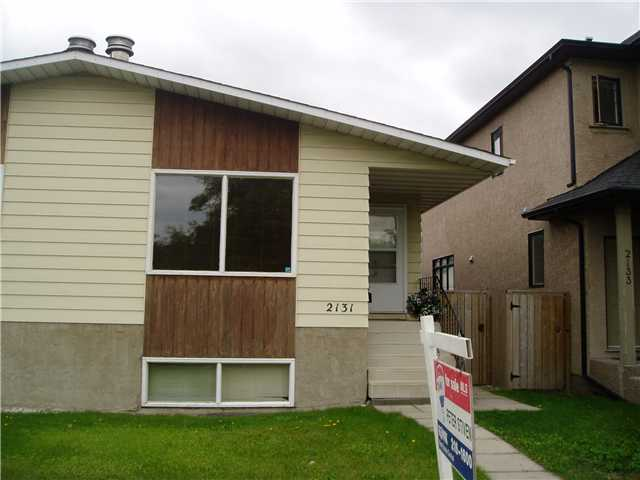 Affordable inner city living!! This home offers over 1,000 sqft on the main level. Two bedrooms upstairs with a full 4 piece bathroom. Good floor plan on the main level. Living room  has a nice cozy corner fireplace to keep you warm on those cold winter nights! Basement is partially finished with 2 more bedrooms. Separate side entrance that goes directly into the  basement. Roughed in bathroom in basement. There is a lot of potential for this property! Great for first time buyer's who want to get in the inner-city, and also great for investors!!  Close to kensington, Public Transit and Downtown! Call us today! OPEN HOUSE SATURDAY SEPTEMBER 7TH 2PM TO 4PM.