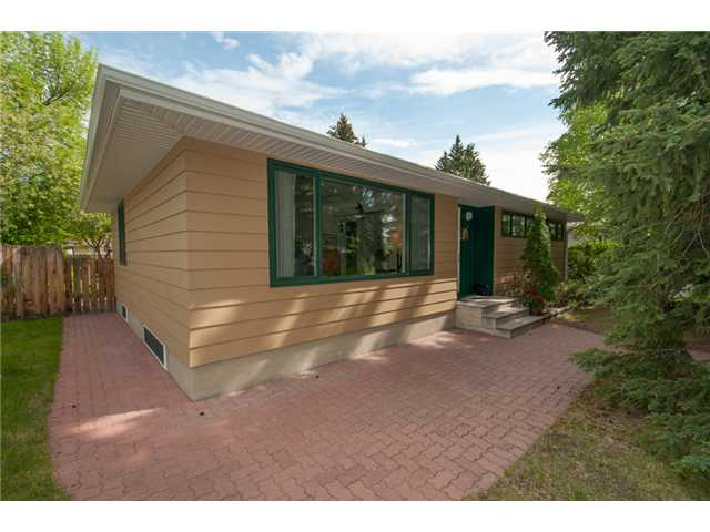 This home is located in one of Westgate's most attractive crescents and is a five minute walk from the new C-train, and close to Westgate School with its K-5 French Immersion and K-5 Spanish bilingual programs.  This community offers mature trees, large lots, and quick access to downtown, shopping or out west to the mountains.  The home features an updated kitchen and bathrooms, newer windows all around, and a large professionally developed rec room with a nice built-in wall unit and cozy gas fireplace.  The large master bedroom offers an ensuite.  The spacious backyard is pleasant and private, yet offers a 24 by 22 garage and RV pad which could easily convert back to more lawn if desired.  This home is immaculately maintained and ready for you to move into.  Come see for yourself!