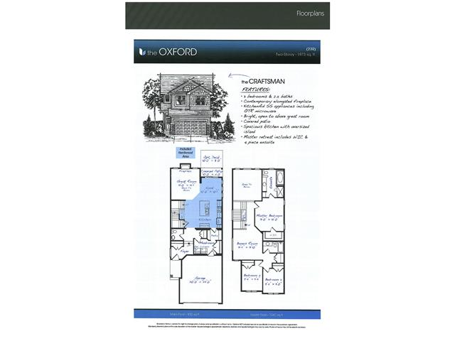 Outstanding Oxford Model by Broadview Homes!!! This great plan boasts 3 bedrooms and 2.5 bathrooms across from an open park/green space and up the road from a future grocery store and many amenities. The main floor sprawls with hardwood floors with a spacious kitchen complete with stainless appliances and granite countertops. The great room features a grand open to below space with modern elongated fireplace with stone facing  and modern style maple railings leading to the upper floor. On the upper floor you will find 3 spacious bedrooms a convenient bonusroom and an master suite complete with 5-peice ensuite and great walk-in closet. Bathrooms include tile and granite tops, a covered patio off the oversized nook is great for that BBQ, and full warranty from one of Calgary's most reputable builders. Call today for your private viewing!!