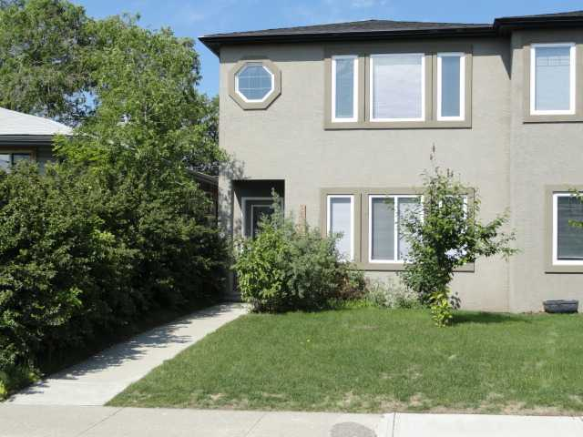 ** Open House Aug 11, 1PM to 3:30PM **Location!! Killarney, close to down town Calgary, close the U of C, Foot Hills Hospital, Mount Royal College, Rockview hospital and West Hills shopping centre. This home boasts gleaming hardwood, ceramic tile and carpeted flooring, 9 foot main floor ceilings, granite kitchen counter tops, stainless steel appliances, huge windows throughout the house and a skylight. Featuring both a living room and a family room, dining room and a half bath on the main level, 3 bedrooms, 2 bathrooms, a loft and the laundry room upstairs, , this home is nothing short of GORGEOUS! The basement is unspoiled and has roughed in plumbing. And not to forget the double detached garage and private back yard with a good sized deck! Come have a look. You will not be dissapointed.