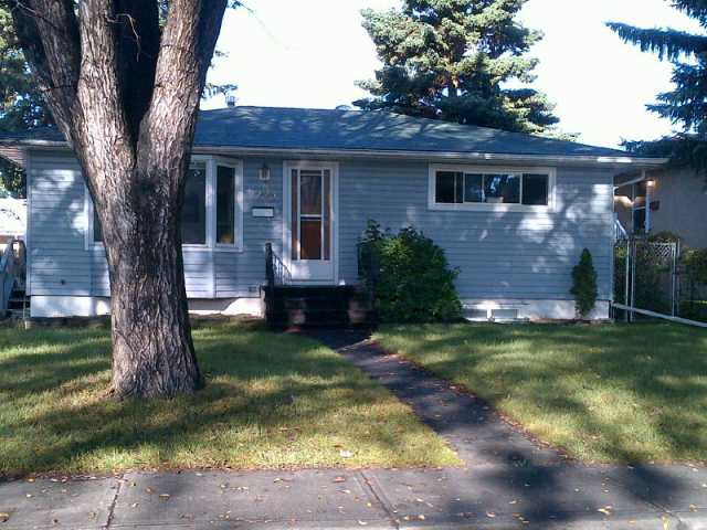 Decent bungalow on R-C2 lot on quiet street with good illegal suite.  West backyard and oversized heated garage.