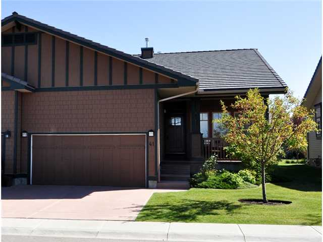 Immaculate 2 Bedroom, attached, ADULT bungalow, 35+ in BRIDLE Estates.  Prime location overlooking a huge park.  Gleaming HARDWOODS. Sunny kitchen with GRANITE counter tops, STAINLESS appliances including a GAS STOVE, MAPLE cabinetry. Spacious great room with 3 way GAS fireplace. Generous master bedroom w/5pc Ensuite & WALK IN CLOSET.   Soft corners, 9 FT knockdown ceilings. MAIN floor LAUNDRY.  TREX, maintenance free decking to beautifully manicured yard. Flooded with loads of natural light throughout. Basement partially developed with professionally finished 4 piece bathroom. Double attached garage. This estate community provides a maintenance FREE LIVESTYLE,  which includes SNOW REMOVAL  & LAWN CARE, UNDER GROUND SPRINKLERS.  Superior construction with concrete tile roofing, James Hardie siding & composite decking.  Low HOA  of $144.  Care of the flower beds & trees can be arranged for a reasonable fee as well. Pride of ownership, nothing to do but move in & enjoy the good life!