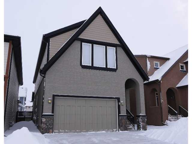 Amazing location! Enjoy front lake access mere blocks away and a luscious green space playground right out front.  Just under 2300 sqft this home looks like new!  You'll love the home feel and spacious entry - notice the gorgeous dark hardwood floors. A walk through pantry leads you to the open floor plan and gourmet kitchen (Granite, Stainless Steel Appliances, dark cabinets) living room (gas fireplace) and dining room (access to backyard and BBQ) with all the windows you could ever hope for! As you head upstairs to 3 bedrooms, laundry room, + bonus room notice the cushy carpeting and wrought iron railing.  The master suite and ensuite (Super soaker, stand up shower and walk in closet) are huge! A nice little perk: central vac included. Worth a look!