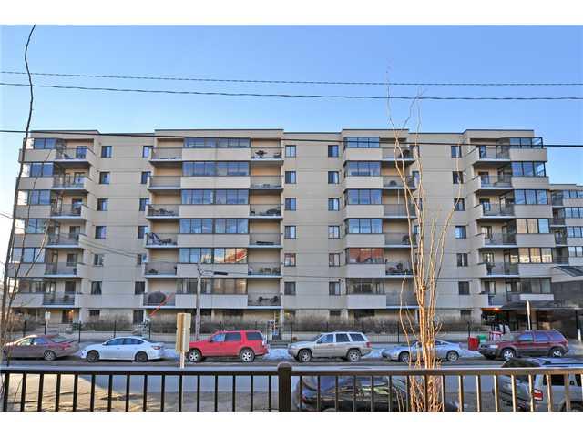 This is it! If you are looking to get into the Calgary market you must act quickly. This sweet upgraded unit is perfect for the first time home buyer, investor or urban professional. Enter & appreciate the many recent upgrades including the granite counters, marble subway tiles, stainless steel appliances, in-suite laundry, jetted tub & Hunter Douglas blinds. This unit is spacious & features a clever enclosed sunroom plus a nice balcony with south views. Watch the Stampede fireworks from your deck & walk a quick 2 blocks to the C-train. Enjoy Sunterra Market, trendy pubs & restaurants, shopping & an attached grocery store. Does it get any better? As you enter you will fall in love with the layout as it feels very spacious & warm. This home features sunny bright south facing windows & large rooms. In-suite laundry is tucked nicely away & there is a good storage area. The master suite is spacious & has good closet space. The building offers a social room, sauna & fabulous patio. This is a must view.