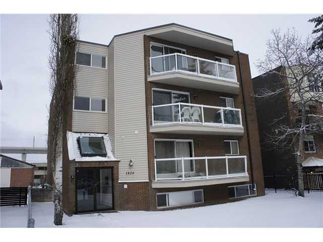 Great starter home or investment property, welcome to this updated apartment in prestige Sunalta.  It has been fully furnished, price includes TV, queen bed, and sofa.  It features new carpet in the bedroom, hardwood and tiles in living room and washroom, granite in the kitchen, updated cabinet, newer windows and sliding door.  It is close to LRT station, school, playground, shopping, and public transits.  ** 303, 1826 11 Ave SW ** Condo fees includes heat and water.