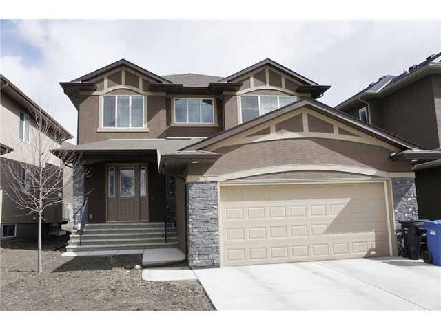 Welcome to this fully upgraded single family home in prestigious Panorama Hills.  It has lots of upgrades, includes 9 feet ceiling on all 3 levels (second floor, main floor and basement), curve staircase, 8 feet interior doors, wrought iron spindle railing, granite counter top in the kitchen and washrooms, upgraded kitchen cabinets, hardwood and tiles on the main floor throughout, and built in cabinet in the living room.  It also features 3 bedrooms up, large ensuite with double vanity sinks, separated bath tub and shower, total 3 full bathrooms, bonus room, main floor with den, large living room, open kitchen and large dining area, sliding door to large deck, and stucco siding.  It is close to school, playground, public transit, shopping, and all amenities.  ** 12 Panatella Rise NW **