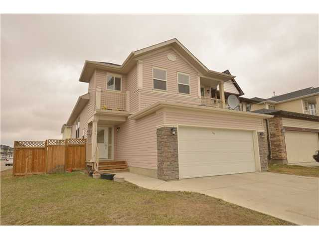 """"""" OPEN HOUSE SATURDAY APRIL 26 FROM NOON TO 4 PM""""""WELCOME TO 144 TARALAKE CR NE. The ULTIMATE ""FLEX HOME"" must be personally seen to realize its FULL POTENTIAL.. A  FAMILY friendly home located on a quiet Cres. in one of Calgary's 'FINEST FAMILY"" communities. This home could easily accommodate EXTENDED FAMILY.HOUSE FEATURES FRONT ATTACHED GARAGE, LIVING ROOM,DINING ROOM, 3 BEDR AND 2 FULL WASHROOMS ON MAIN LEVEL, MASTER BR WITH ENSUITE. NICE COLOR SCHEME ALL OVER THE HOUSE MAKES THIS GYM JUST AS SHSOW HOME. BASEMENT IS FULLY FINISHED AND SUITED WITH SEPERATE ENTRANCE WITH 2 BEDROOMS,KITCHEN , LIVING AND FULL WR.GOOD FOR EXTENDED FAMILY OR GREAT MORTGAGE HELPER AND CORNER LOT JUST MAKES THIS HOUSE A PERFECT FAMILY HOME. LOCATED ON A VERY QUITE STREET AND STEPS AWAY FROM SCHOOLS, SHOPPS AND SADDLETOWN LRT. COME SEE THIS BEAUTY TODAY AND CALL IT HOME...THE LIST GOES ON!"" It spells S-U-P-E-R V-A-L-U-E. SHOWS GREAT..."