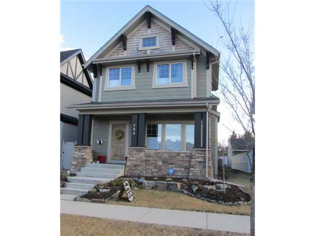 OPEN HOUSE Sat/Sun May 3-4, 2-4PM. Fantastic value for a large newer home in such a great neighbourhood! Newly built in 2008, this homes features loads of windows and is very light and bright. Main floor has lovely hardwood floors, island kitchen with shaker cabinets, granite counters, pantry and stainless appliances including a gas stove. Large dining room seats 10 easily and hosts a second BBQ deck. Master suite features a walk-in closet, a 5-pc bath with separate toilet, separate shower, two vanities & corner tub. Computer area at top of stairs plus a large linen closet. Large bonus room above garage would also make a great 4th bedroom or exercise room. Double attached garage opens to a mud room/laundry room off the kitchen with extra storage. Side yard deck can be extended and has nice sunny views to the SW. Large basement has high ceilings and is an open plan that would be easy to develop. Also features air conditioning and low maintenance CanExel wood fibre siding. A great find so close to downtown!