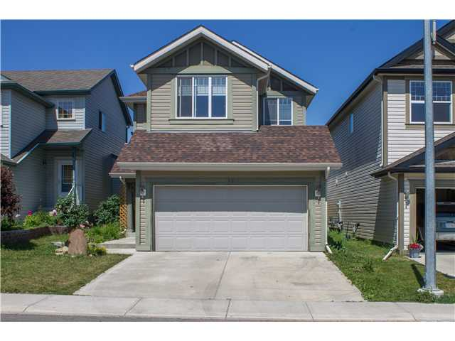 Great family home! This 1697 sq ft storey offers an open concept main floor starting with a spacious tiled front entry,  kitchen complete with granite counter tops and a breakfast bar, a large nook, a big living room and natural maple hardwood throughout. Upstairs are 3 good sized bedrooms. The master has a big walk in closet and the bonus room also has maple hardwood floors. The backyard has a 2 tier deck and gazebo. There is main floor laundry and a double attached garage. It's within walking distance to schools and public transportation. Watch the video to see more pictures!