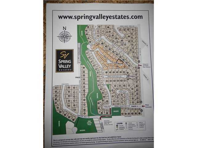.10,000 sg ft or 977.sqm bareland condo Lot more or less, with mountain view. Bring your own builder.  Build your minimum 1800 sg ft. WALK OUT BUNGALOW with full mountain view. May be able to build a 2 story  have your realtor call for more info. GST inc in list price. Builder to be approved by developer