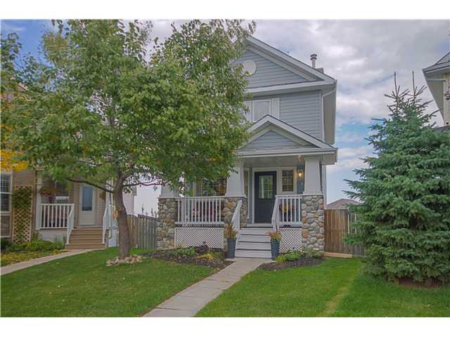 This charming family home is on a quiet street in the kid friendly community of Hidden Valley. Just over 1000 sq. ft. this 2 storey has main floor kitchen, living room and dining room which opens onto a good sized deck. Upstairs are 3 bedrooms and the master has a big walk-in closet. There are many upgrades including fresh paint in a contemporary color, light fixtures, and rich, dark engineered hardwood floors which are on the main floor and second floor.  The basement is a walkout and it's on a huge pie lot. This is a great place to call home! Watch the video to see more pictures!