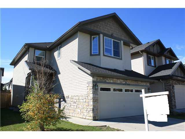 OPEN HOUSE: Oct. 25th 2:30pm-4:30pm. Come see this wonderful 4 bedroom and 3.5 bath two storey home with a fully finished basement located across the street from green space in the northwest community of Kincora! Highlights on the main floor include granite counter tops, black appliances a cozy gas fireplace in the living room and a large dining nook area. Upstairs there is a large bonus room and three sizeable bedrooms including the master with a 5 piece en-suite featuring his and her sinks, a deep jacuzzi tub and a separate shower. The lower level has been completely finished with a fourth bedroom and third full bathroom perfect for guests and a large rec room ready to be used as a home theatre room or kids play area. Enjoy the summer sun on the deck in the fully landscaped and fenced back yard and plenty of room for the kids to play. Located just a quick walk to plenty of shops, parks, public transit and direct access to Stoney Trail makes this the perfect place to call home. Call Now!