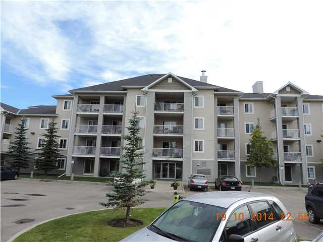 2 bedroom apt. close to stoney trail ( easy access to everything)Third floor with large balcony. Lotsa cabinet space in kitchen and in suite laundry and storage area. Super clean and efficient floor plan. Why rent when you can own cheaper!!! Comes with one assigned stall and one rented stall for $40 (optional)