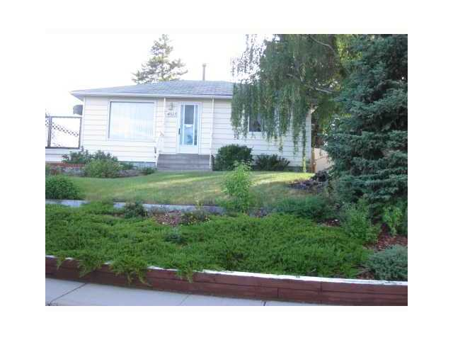 *OPEN HOUSE SUNDAY, NOVEMBER 9, 2:30-4:30pm.* Here is an opportunity to own a charming 2 bedroom bungalow located on a large 7100 sq ft lot. You will find 2 good-sized bedrooms on the main level and a newly renovated 4 pc bathroom. In addition, you will appreciate the open concept feel of the bright living room and kitchen.  Enjoy the quiet setting surrounded by amazing breathtaking views of greenery, flowers and trees. By evening, enjoy watching the sun set on your back deck. Being conveniently located with quick access to 16th Ave. and Stoney Trail, just a short bike ride or stroll to Bowness Park and the river, and just minutes away from the mountains, this home is not to be missed! Call now and view today!