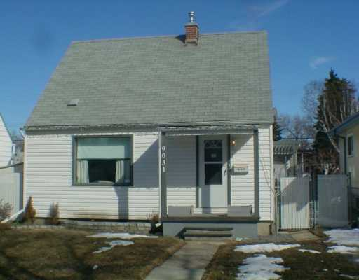 This gorgeous 900 sqft. semi-bungalow offers 2 bedrooms on the upper level and a possible 3rd bedroom on the main floor. The 3rd bedroom could also be used as a den or dining room with double glass french doors. Upgrades of this home include kitchen, bathroom, flooring, furnace, shingles and windows. The bathroom is nicely upgraded with glass block detailing for the window. The kitchen is bright with new white cabintry, natural sunlight with an eating area. Hardwood floor throughout the main floor with a main floor laundry room. The fully landscaped yard has a covered deck, fence and a single detached garage. This home is well taken care of and is the perfect starter home located in Bonnie Doon.