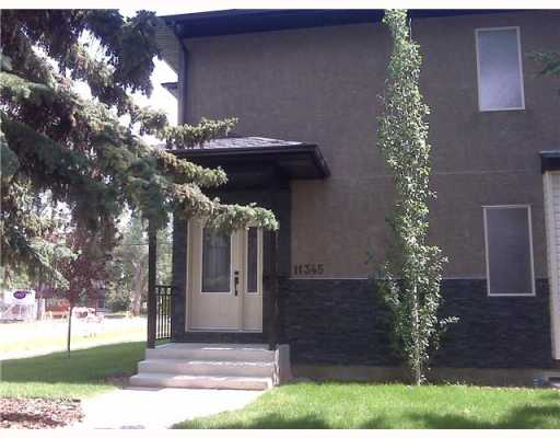 This gorgeous 2 storey townhome offers 3 bedrooms, 3.5 bathrooms, and nearly 1700 sq ft of living space on 3 floors. This townhome is centrally located in the Westmount/Inglewood communities offering you a mature neighbourhood with quick access to schools, shopping, transportation and only minutes to downtown and WEM. The mainfloor is an open plan with hardwood floors, gas fireplace, amazing kitchen with granite counters, tiled floor and tiled backsplash, all stainless steel appliances included,rounded off with Wenge cabinets. There is a private deck just out your kitchen door with gas hookup for your BBQ. You'll find your master bedroom complete with large walk in closet and a spa like ensuite with jacuzzi tub, tiled floor and eco-freindly toilet. The 2nd bedroom and it's private bathroom are also on the second floor as is your laundry for ease of convenience. Fully finished basement with 9ft ceilings and 3rd bedroom with 3rd bathroom as well.