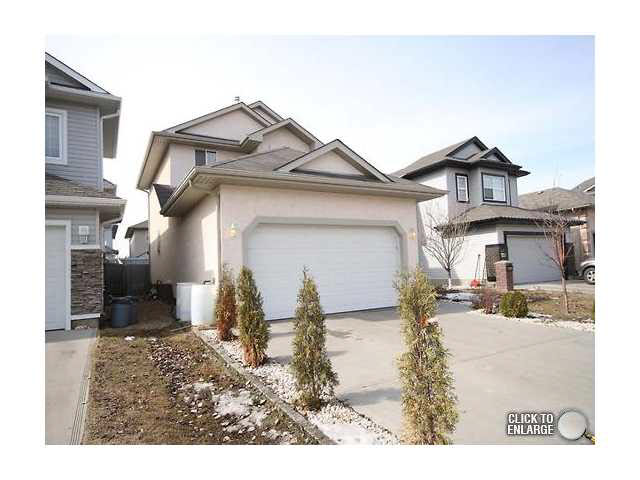 This 3 bedroom, 1420sq ft home is located in the Chambery community. This is a young family oriented area that has quick access to Anthony Henday for easy commutes through the city. This home features hardwood floors, gas fireplace, open kitchen, pantry. The yard has a nice deck and is west facing for the best in afternoon sun. Upstairs has 3 bedrooms. The master suite has an ensuite and the childrens rooms share the second bathroom. This is the best priced home in Chambery and the sellers wants it SOLD!!Immediate possession is available.