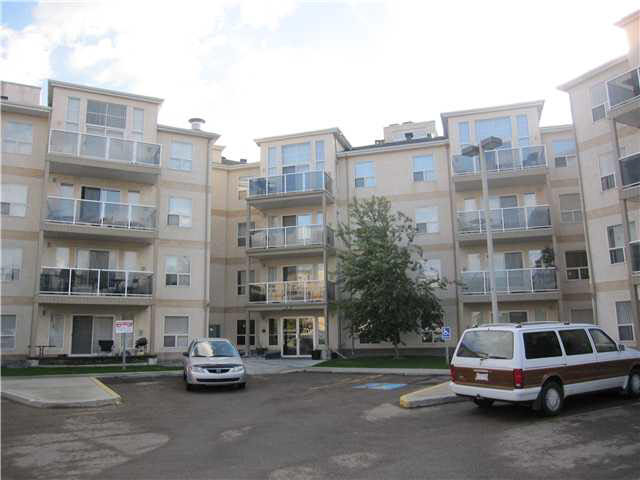 NEW PRICE...203,800 Stylish age restricted(18+) 2 bedroom,2 bath condo in west Edmonton close to all amenities. Great layout with the bedrooms on either side of open concept living room. Nice maple kithen with raised eating bar. Good size master with full ensuite. Second full bath has a full size shower. Insuite laundry. Air conditioning. Titled undergound parking with storage locker and carwash. Amenities include exercise room and social room. West-facing patio. Lovingly cared for by original owner. Best value in the complex.