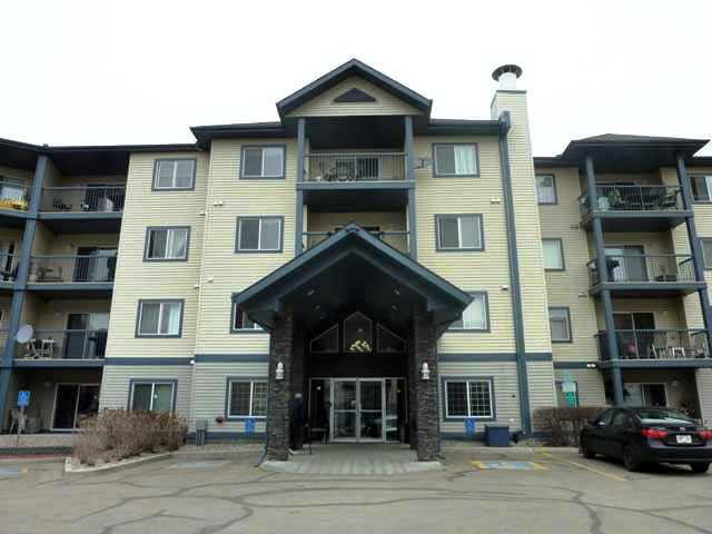 """Popular """"Promenade Eaux Claires """" Complex.1013 sq.ft. 2 Bedroom 2 Bathroom (Jet-Tub).Fireplace (Cozy Corner) Practical Floor Plan.Light,Bright,Open Plan.Kitchen c/w Island,Oak Cabinets.Master c/w Ensuite/Walk Through Wardrobe.2nd Bedroom @ opposite side of Living Area lends to a """"Home Style """".Step onto your Patio which overlooks Greenspace. In-Suite Laundry,Storage Space.Central Air Conditioning for the Warm Months Ahead,Gas Bar-B-Que Outlet.Complex Amenities Include Exercise Room,Social Room,Guest Suite.""""Original Owner"""" Mint.5 Appliances,all Inclusive.Immediate Availability.Truly every type of Shopping,Services,Medical @ your Door.Superb Project Management.** Lowest Complex Price **"""