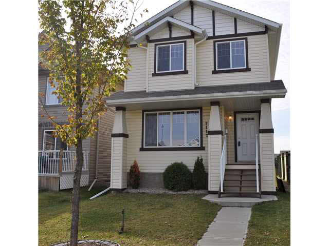 Located in west Edmonton in desired neighbourhood of Suder Greens. This impressive 1311 sqft 2 storey has been extremely well maintained and shows like new! Pride of ownership is evident and offers open concept kitchen/ dining area which overlooks spacious living room and front entry, 3 bedrms, 2.5 bathrms, and large windows for natural light. The kitchen has plenty of counter space with an eating bar and also has ceramic tile backsplash a pantry and an abundance of oak cabinetry. Features include a modern neutral color scheme, 5 upgraded appliances and light fixtures with high grade carpet and roughed in central vac. Other features include gas line for the BBQ, alarm system and landscaped yard. There is also a 20x34 concrete pad ready for a garage. The upper level features 3 bedrms with the master offering a large walk in closet and a 4 pce. ensuite along with a full guest bathrm. Close to public transit and the Anthony Henday, Whitemud, schools, shopping, Lewis Estates Golf Course and the new Costco.