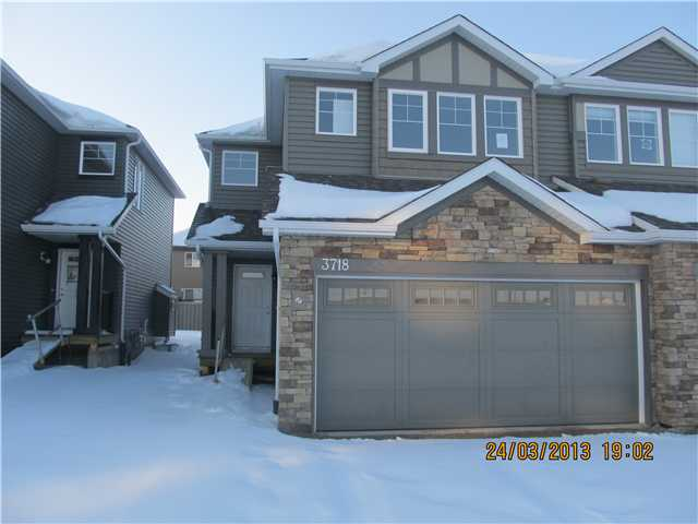 Brand new double garage duplex. 1500 sq.ft. in the desirable area of Windermere North. Huge lot. All 6 brand new appliances included. Main floor offers huge kitchen with island and charming dark kitchen cabinets. Good size dining room looking to the back yard. Huge living room with fireplace. 2-pc washroom and huge closet also on the main floor. 2nd floor offers 3 big bedrooms, 2 full washrooms and huge loft / sitting area. Master bedroom has full 4 pc washroom and huge walk in closet. Lots of windows and very spacious.