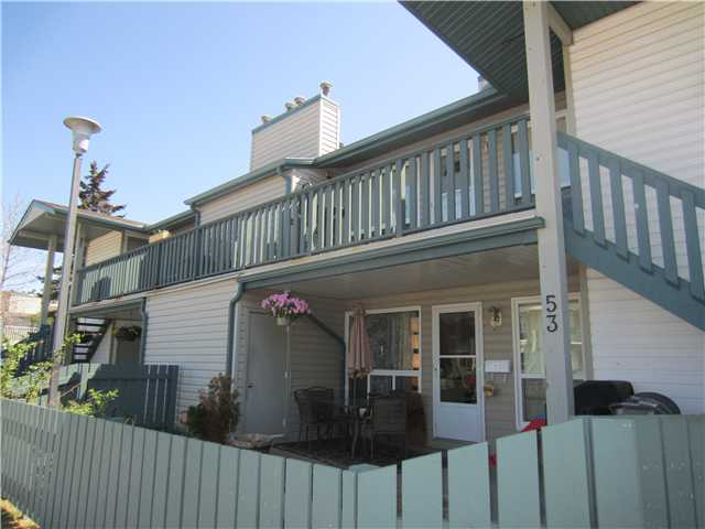 Perfect location within walking distance of Rec Centre, Grant MacEwan College, Shopping Mall, schools, public transportation and playgrounds. 2 bedrooms, large upgraded bathroom, master bedroom with a walk-through closet to the main bathroom, upgraded woodburning fireplace, separate, mechanical and storage rooms on the exterior. This home shows pride of ownership with tons of upgrades, including laminate, ceramic and lino flooring, modern paint colors, new countertops, fantastic, modern kitchen backsplash, all new interior and exterior doors, new windows, new siding and shingles, new fencing in an awesome front yard with patio area, grass and flower beds. All light fixtures are updated as well as newly painted kitchen cabinets, new pantry door, new hardware, electrical plates, newly painted ceilings, furnace motor, hot water tank, window coverings, shower door and more... This is truly an exceptional home for a great price and with low condo fees! No need to rent anymore!