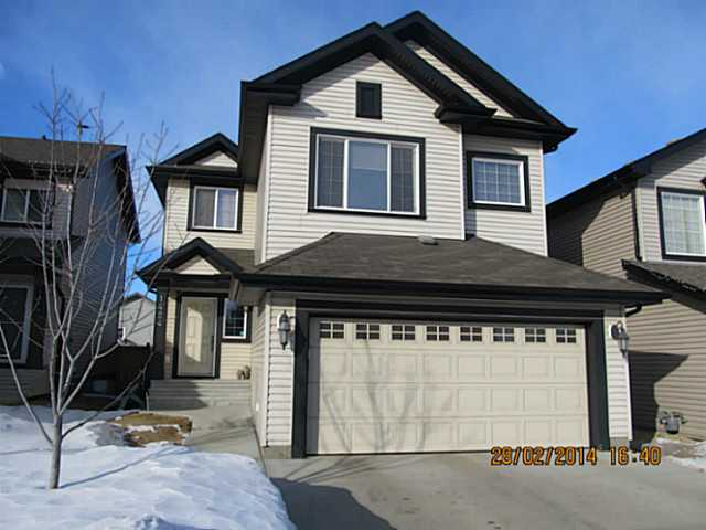 Amazing & FULLY loaded house in the desirable area of Tamarack. SUPER clean. Features incl: FULLY finished bsmt, 4 bedrooms, 2 family rms, bonus room, den, granite countertops, ceramic tiles, hardwood flooring, central air conditioned, heated garage, 9 feet ceiling on the main floor & in the basement, skylight, Cntrl vac system, garborator. Main flr offers hardwood & ceramic tile. Beautiful kitchen area with beautiful cabinets and granite counter tops & granite island. High end stainless appliances with gas stove. Beautiful vaulted ceiling in dining area and skylight adding beauty to the area. Huge living room & fireplace and very nice size den/office. Charming stairs leads to the 2nd floor that offers huge bonus room & with 3 bedrooms. Master bedroom has beautiful 5-pc ensuite and walk in closet. Two more bedrooms and one 4-pc washroom. Bsmt is fully finished with family rm, huge bdrm and 4-pc washroom. Fully fenced & landscaped with nice size deck. Close to school, bus terminal & huge shopping mall.