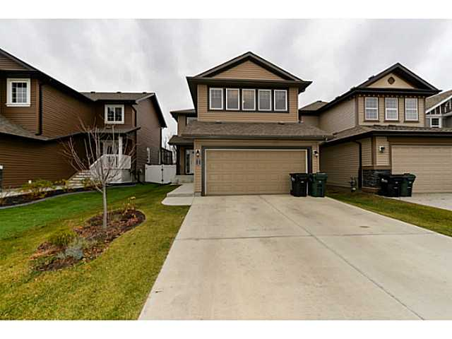 Peace and serenity exists here and is felt the moment you walk into this well cared for 1800+ 2 storey home. You are welcomed to a private tree lined view of your back yard upon entering. The peacefulness continues with the calming colors and openness felt from the entry way to the great room with a gas fireplace and into the spacious kitchen with corner pantry. Upstairs offers a bonus room with vaulted ceilings, 3 bedrooms inclusive of the master that contains a 4 pce en suite with corner tub and separate shower. the backyard is landscaped, fenced and completed with a gathering sized two tiered deck. the basement is unfinished and just waiting for the next homeowners creation. You won't be disappointed!