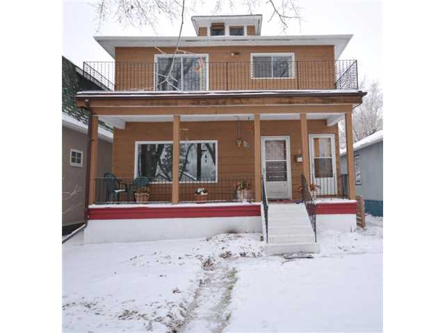 Lovely character home nestled on a quiet tree-lined street. Great revenue property for 1st time home buyers or investors offering single family living or multi-living with separate entry to all 3 levels. Upgrades include new furnace, HWT, flooring, kitchen cabinets, countertops, appliances, shingles, 100 amp service & fresh paint. Unique features start with the huge veranda & large balcony above & dormer style windows. 2 separate front entrances - for the main floor living space & the upper level living space. You are greeted with a spacious foyer, living room to the left & front entry closets. The hallway leads to the new kitchen, 4 pc bath & the large master bedroom. The upper level has a spacious kitchen, living room with a large balcony, upper 4 pc bath, master bedroom & 2nd bedroom w/balcony. Separate side entry to the basement features a family room/bedroom, 4 pc bath & additional room. Alberta Avenue is becoming Edmonton's coolest neighborhood with artistics residents & great revitaliztion.