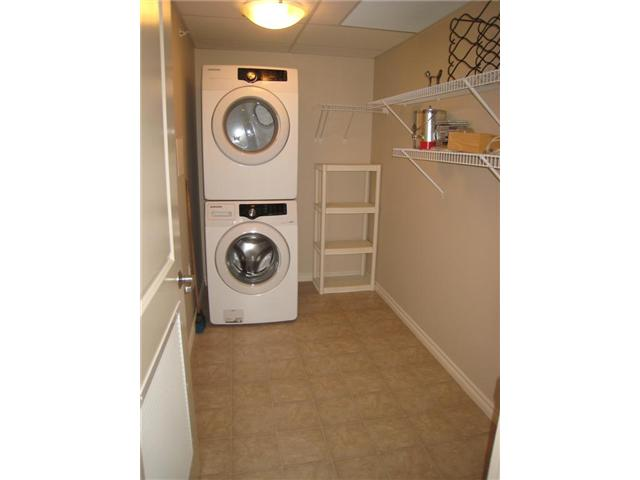 Super front load Laundry and large storage room.