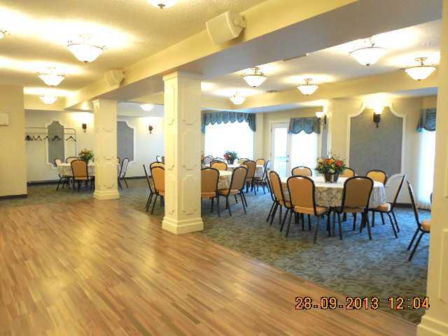 why not host your own function here in the condos main meetingroom / banquet hall.
