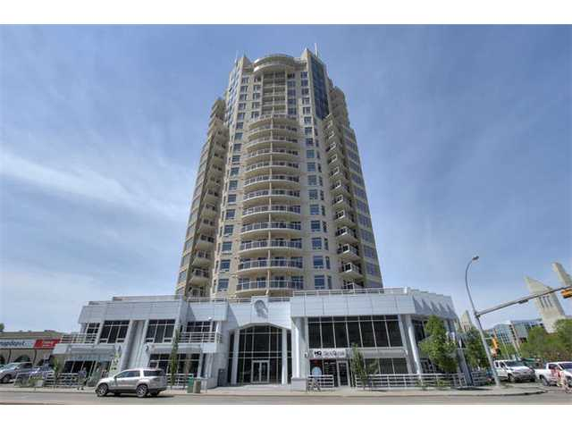 "Executive Lifestyle and Rare Investment Opportunity at ""The Quest"" this is one of Edmonton's premiere downtown condo towers. Quality construction with impressive finishing's, top end S/S appliances, in suite laundry, and many special features throughout such as hardwood, granite and porcelain tile are sure to impress. This private suite is in excellent show room condition; being lavishly appointed with modern d?cor and a trendy design. A unique and rare turn key opportunity, where as all of the quality contents as you see it, are included in this sale; definitely ready to move right in and enjoy ownership with immediate possession. This 807 sq.ft. 2 bedroom, 2 bathroom unit features the desirable E floor plan with unobstructed downtown city skyline views toward the south, west and north. A prestigious location; right across from Grant MacEwan and close to the new highly acclaimed 'Rogers Place' arena. An outstanding ownership opportunity; come see for yourself and experience the future of downtown living."